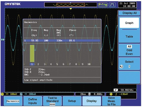 POWER ANALYSIS SOFTWARE FOR POWER SUPPLY MEASUREMENTS (OPTIONAL)