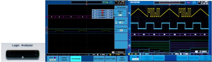 Mixed Signal Oscilloscope(MSO)