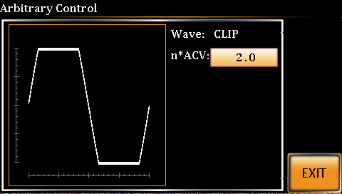 Clipped sinewave